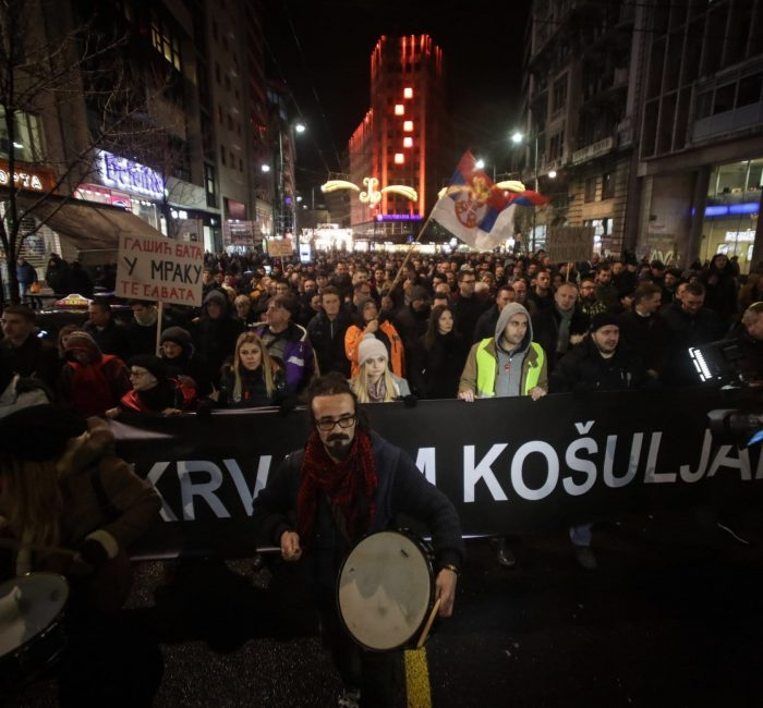 serbia protests