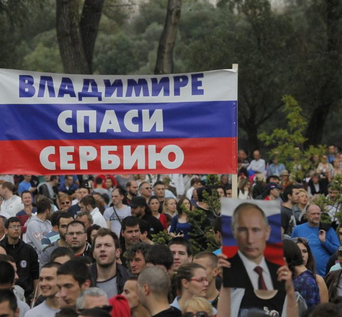 Putin v Serbii