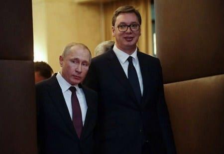 Putin i Vuchich