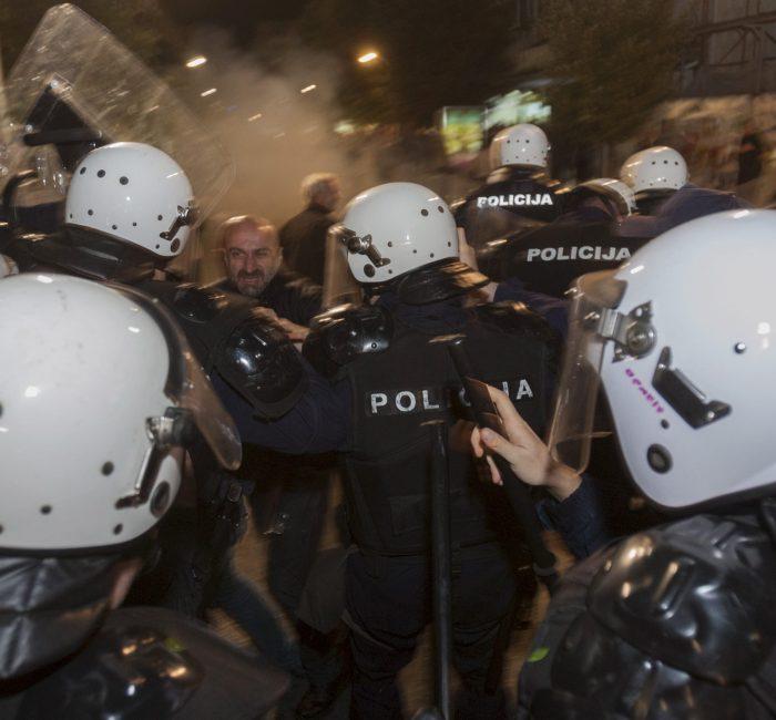 protesty v chernogorii