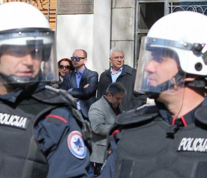 Andrija Mandic Milan Knezevic policija