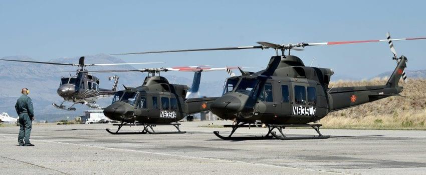 2018 09 10 Novi helikopteri Bell 412 EPI Preleti i slijetanje helikoptera 38