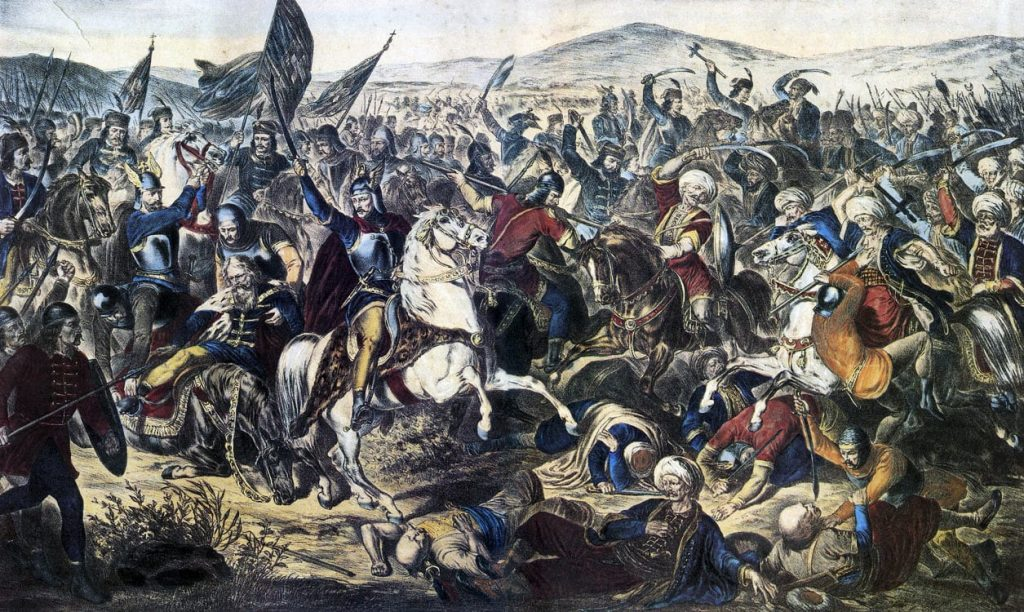 Battle of Kosovo Adam Stefanovi 1870
