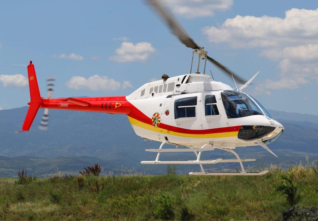 Macedonian Air Force PTC Macedonia Bell 206B 3 serial 402 photo Igor Bozinovski