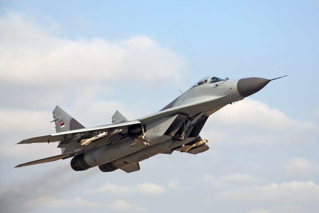 Serbian mig 29 missiles