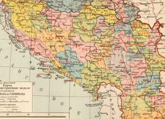 Jugoslavia 1922 adm podela e1571148345479
