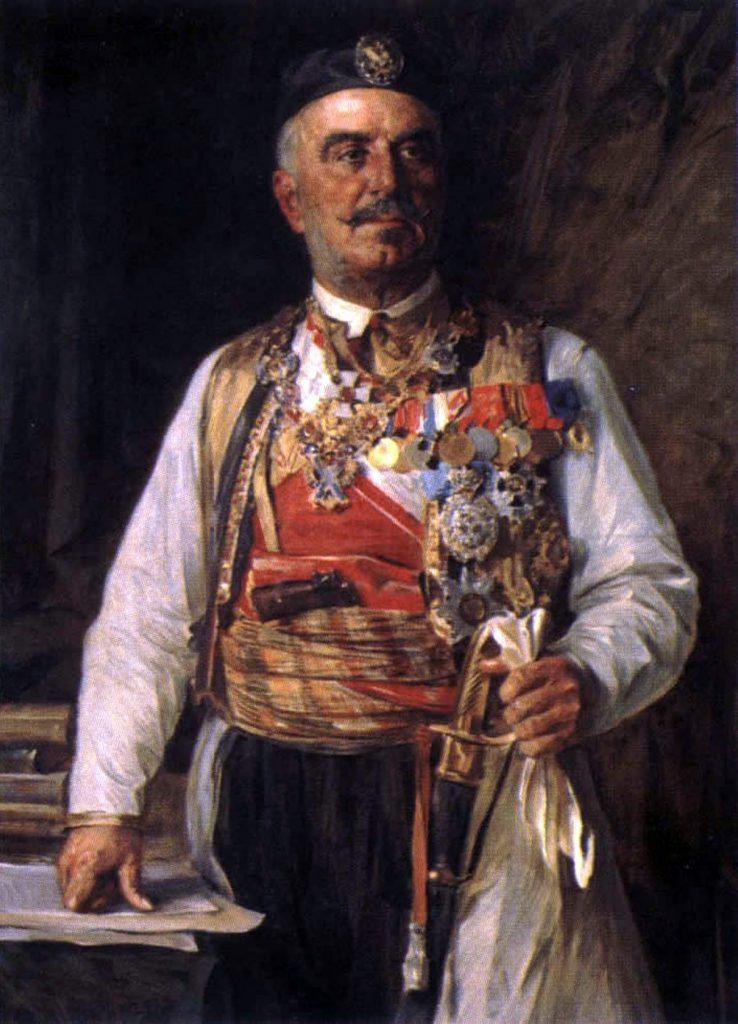 Nikola I Petrovic Njegos 1840 1921 srpski kralj Crne Gore