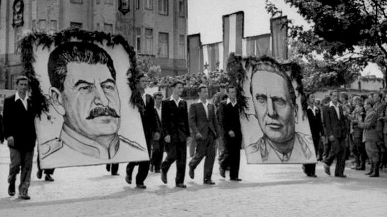 Manifestacija jugoslovensko sovjetskog jedinstva na ulicama Beograda nakon 1945
