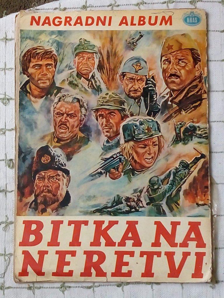 originalslika Bitka na Neretvi Kras Zalepljeno 106 od 120 Slicica 197958323