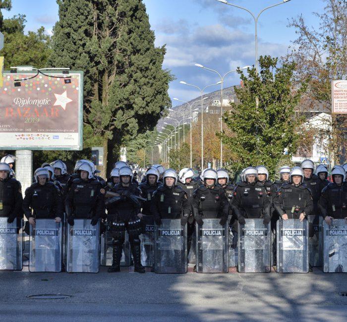 Jake policijske snage na ulicama Podgorice 2