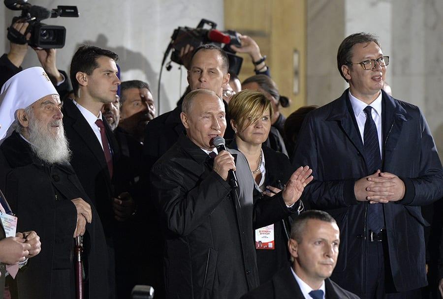Putin Vucic Beograd Hram1 Foto Rade Prelic Tanjug