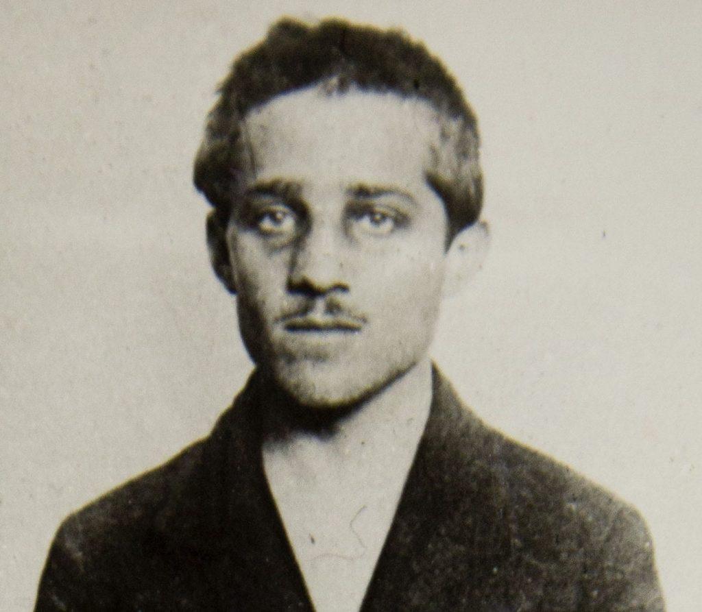Gavrilo Princip cell headshot