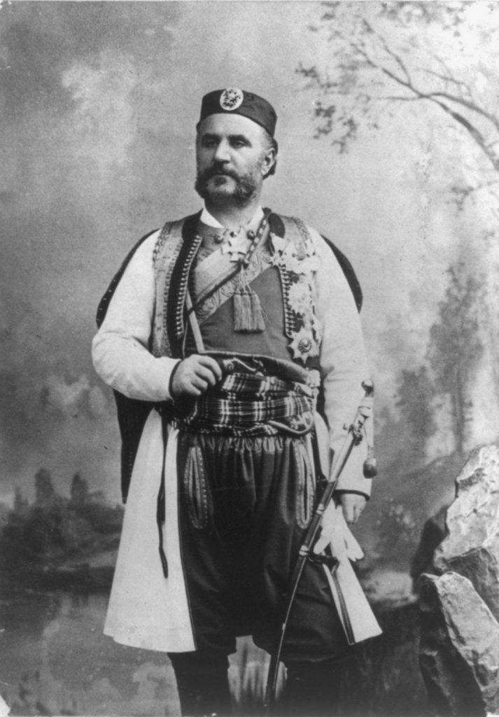 Nicholas I of Montenegro 1909