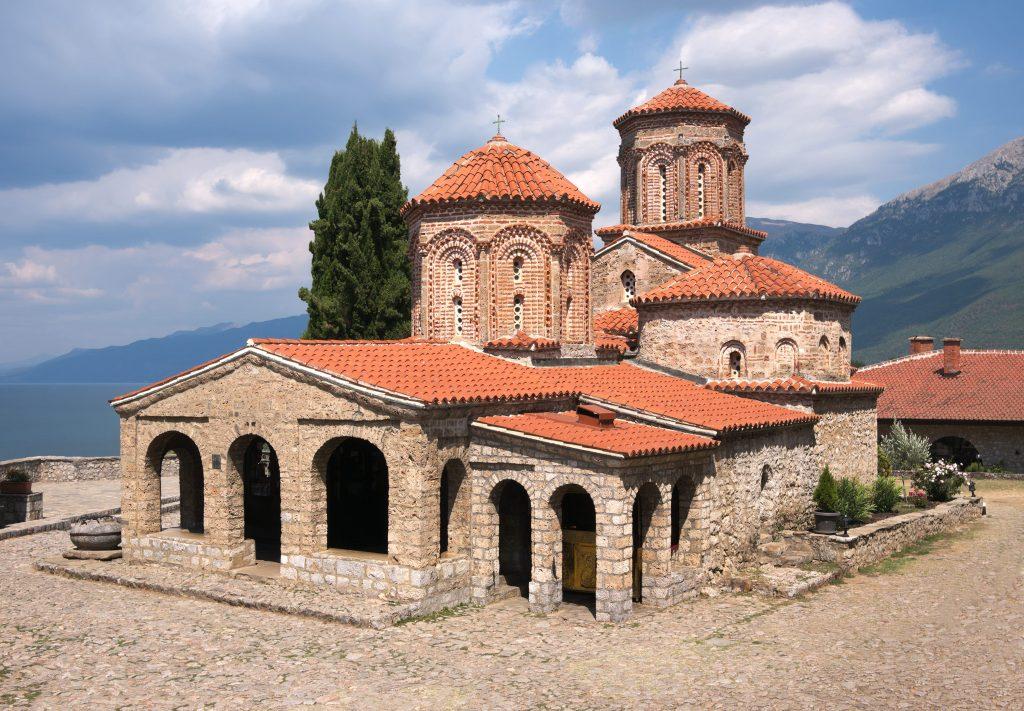 Saint Naum Monastery manastir Sveti Naum kod Ohrida Makedonija
