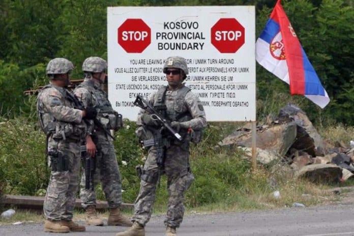 Kosovo granica