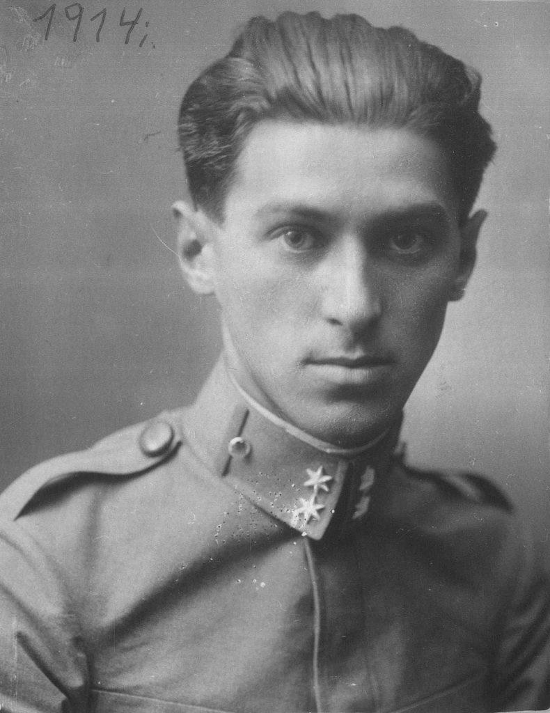 Milo Crnjanski 1914