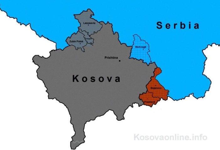 albanski mediji kosovo mapa ff