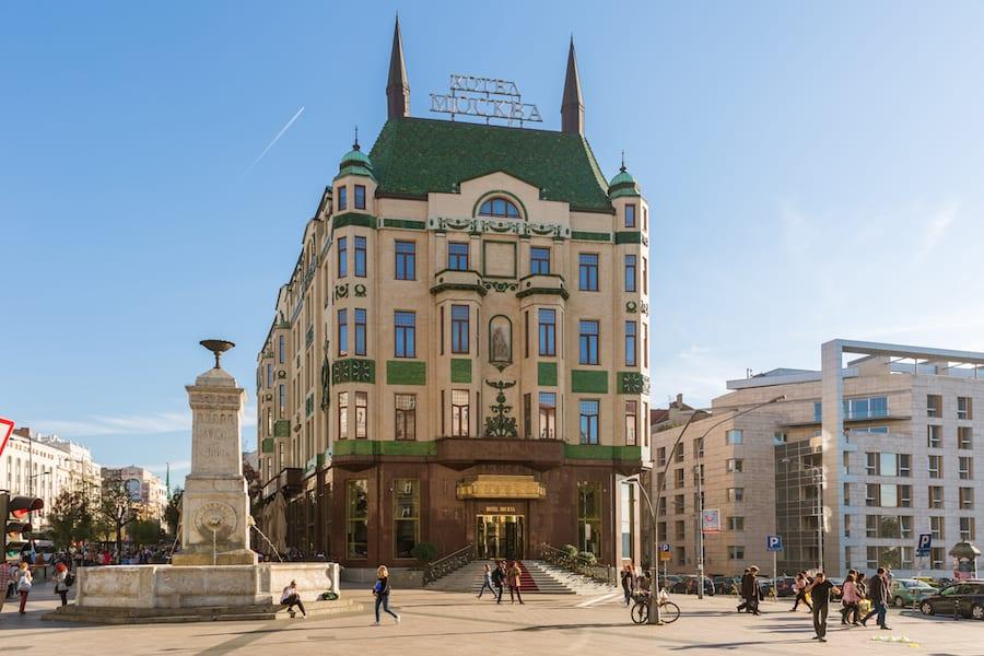 900x600 Terazije terazijska cesma i hotel Moskva 1
