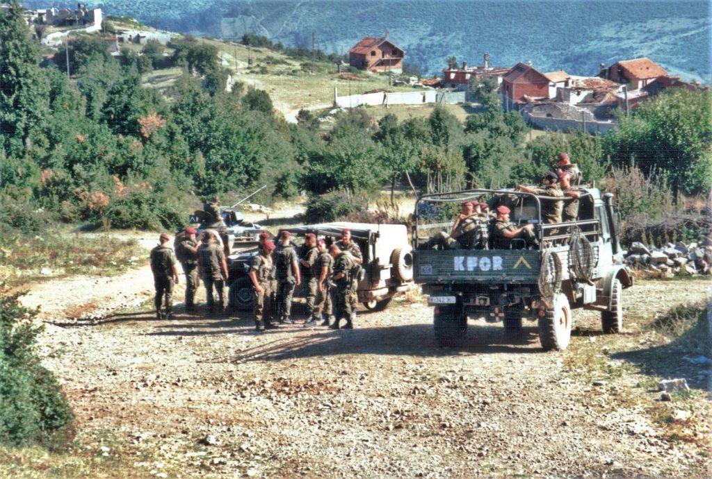1920px German KFOR troops patrol southern Kosovo summer 1999