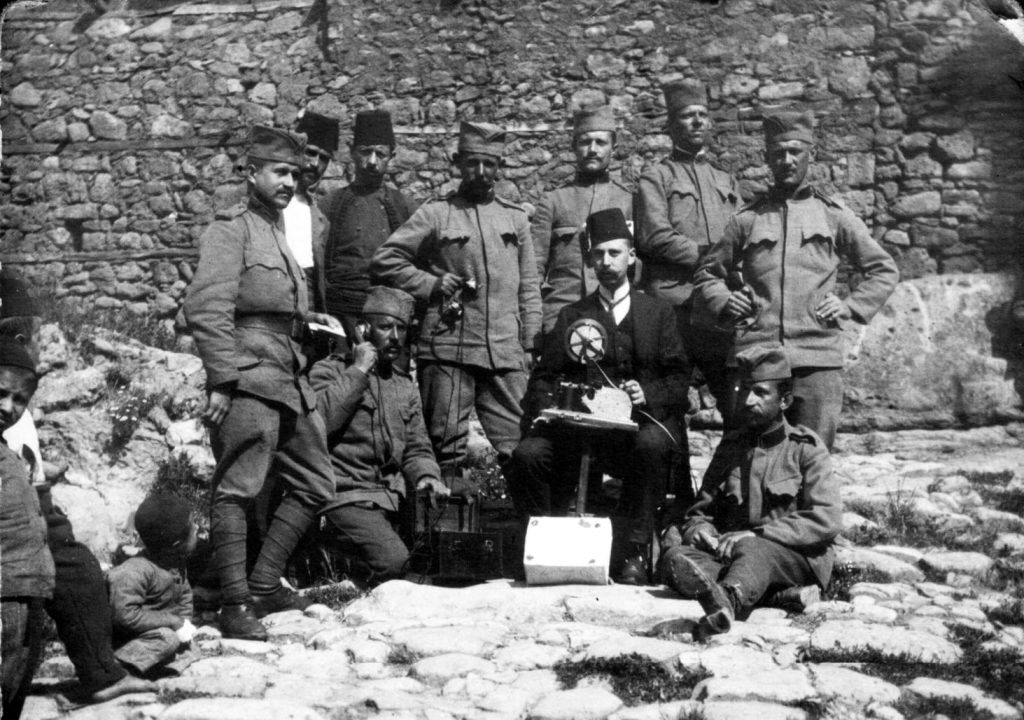 Serbian soldiers in Kratovo 7 June 1913