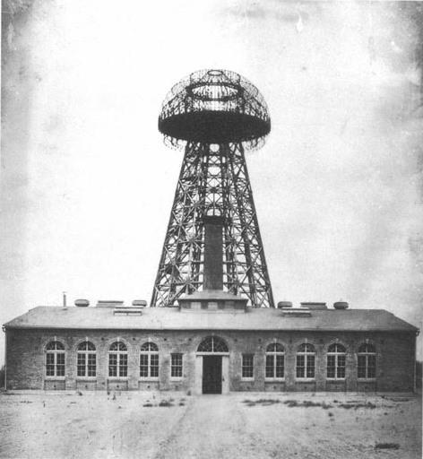 Tesla Broadcast Tower 1904