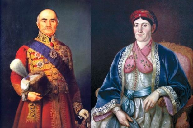 Ljubica i Milos Obrenovic
