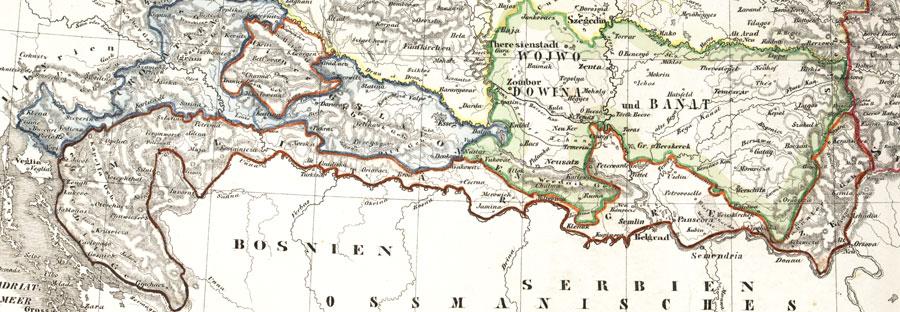 Militargrenze Wojwodowena und Banat