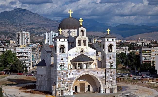 Saborni hram Hristovog Vaskrsenja Podgorica fs