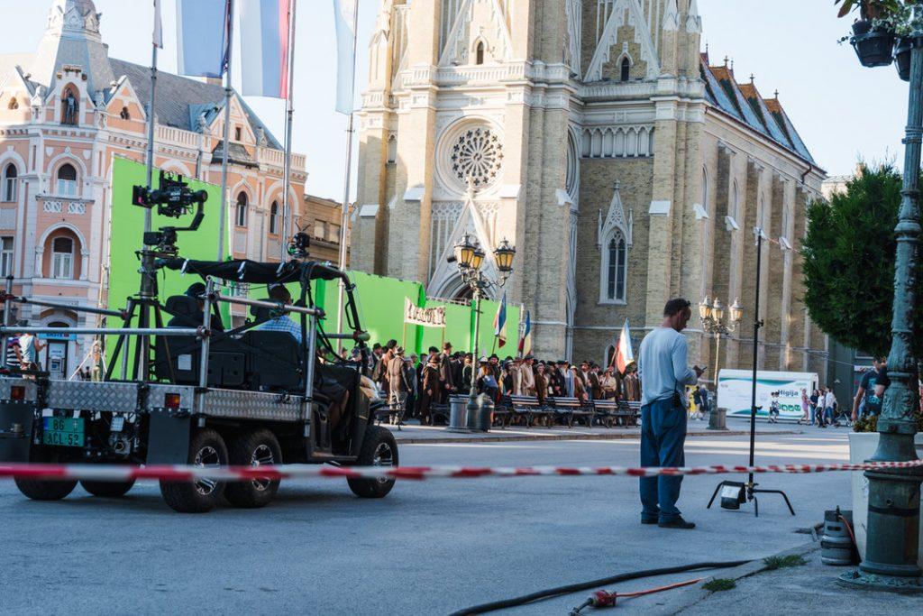 snimanje filma novi sad centar
