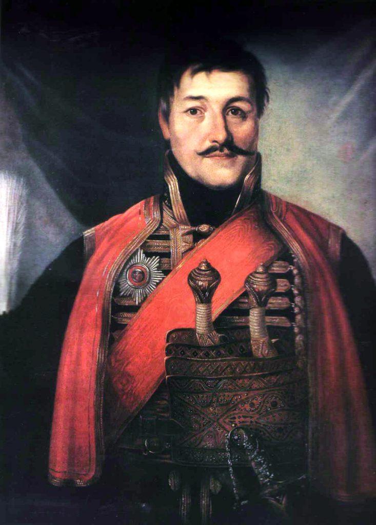 Kara or e Petrovi by Vladimir Borovikovsky 1816