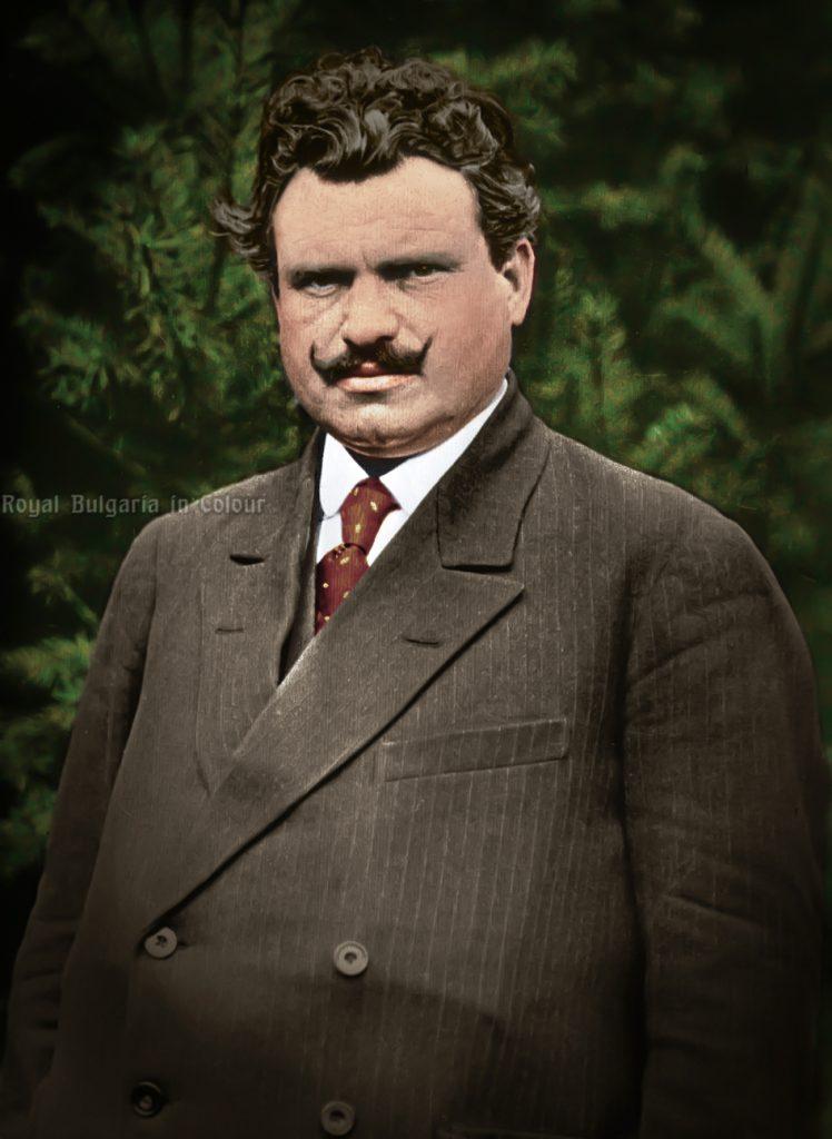 Stambolijski le premier ministre roumain ..