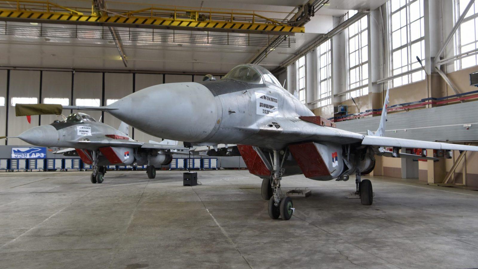 ВВС Сербии пополнились еще двумя МиГ-29