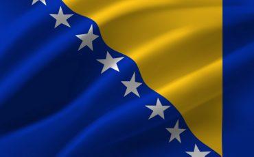 waving flag of the bosnia and herzegovina waving bosnia and herzegovina flag 172010 454