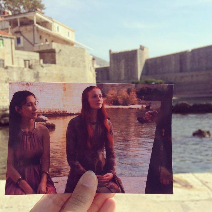 2.Sansa Stark i SHae na ulitsah Dubrovnika kultorologia.ru