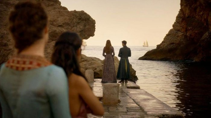 7. Sansa Stark i Petir Bejlish