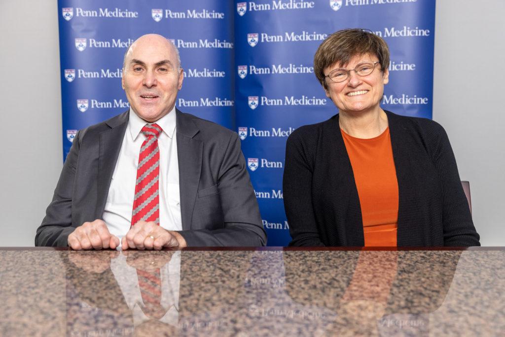 4. Dryu Vajsmann i Katalin Kariko Penn Medicine